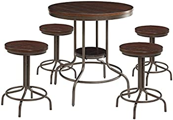 Burney 5-Piece Counter-Height Dining Set