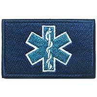 Patch Nation Estrella de Vida paramédico Azul Bordado