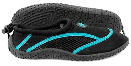 Aqua-Speed ® Scarpe di Aqua Model 3(36–46Unisex struttura anti-scivolo coulisse Sport)