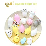 play dough angry birds - Squishy Toy, Chickwin Randomly Squishy Animal Cute Slow Rising Squeeze Toys Soft Squishy Release Stress ect Stress Relief Toy (Random does not repeat 10 pcs)