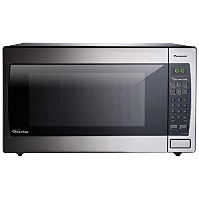 Panasonic NN-SN936W Countertop Microwave with Inverter Technology