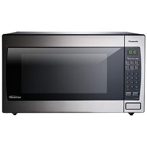Panasonic Microwave Oven NN-SN966S Stainless Steel Countertop/Built-In with Inverter Technology and Genius...