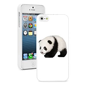 For iPhone 4 4S Hard Case Cover Baby Panda Bear -02