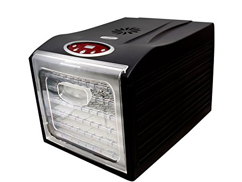 Eastman Outdoors 6 Tray Professional Dehydrator with Digital Timer by Eastman Outdoors