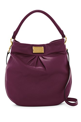 Marc by Marc Jacobs Hillier Leather Handbag (Aubergine)