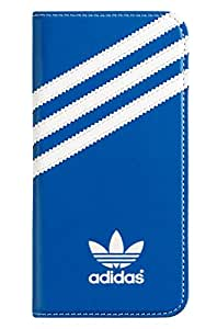 adidas Originals Booklet Wallet Cell Phone Case iPhone 6 / 6S Blue/White