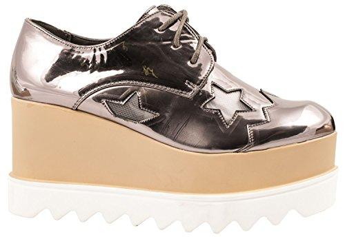 Elara - zapatos con cordones Mujer Grau Profil
