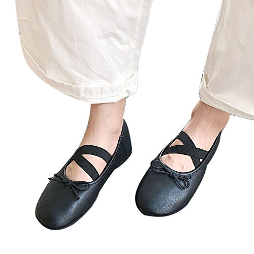 Sneakers Soft Black Flat Shoes Shoes Women Shoes Peas4 Yoga Riou Casual Ballet Fashion Dance xUYAqwaBa