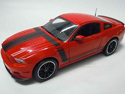 Amazon 2013 Ford Mustang Boss 302 Red 118 By Shelby