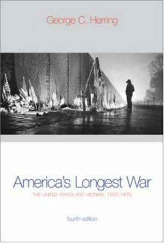 America's Longest War: The United States and Vietnam, 1950-1975 with Poster (4th Edition) by McGraw-Hill Humanities/Social Sciences/Languages