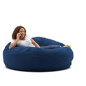 Amazon Com Big Joe King Fuf Foam Filled Bean Bag Chair