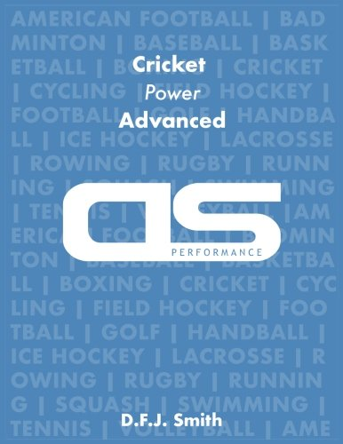 DS Performance - Strength & Conditioning Training Program for Cricket, Power, Advanced