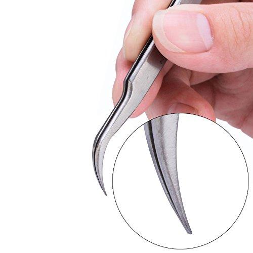 10pcs/lot Precision Vetus Switzerland Tweezers Stainless Steel Tweezers Herramientas Electrician Hand Tools ST-15