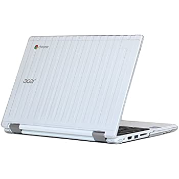 """iPearl mCover Hard Shell Case for 11.6"""" Acer Chromebook R11 CB5-132T / C738T Series (NOT Compatible with Acer C720/C730/C740/CB3-111/CB3-131 Series) Convertible Laptop (Clear)"""