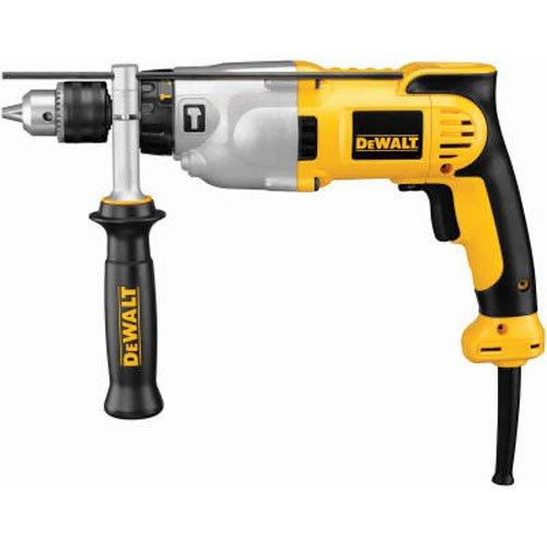 DEWALT Hammer Drill Kit DWD520K, 1/2-Inch, 10-Amp, Pistol Grip