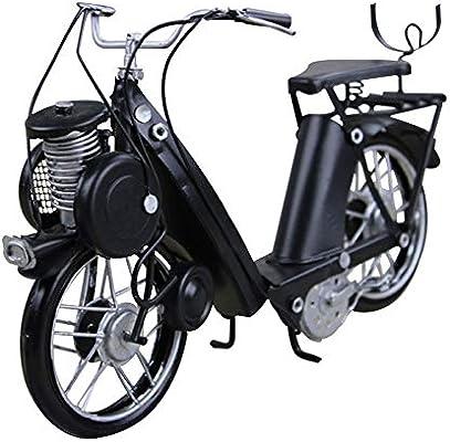Manualidades de metal, accesorios de modelo de bicicleta de hierro Fotografía de bar Regalo de vacaciones creativo ...