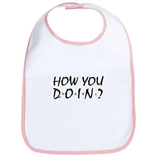 CafePress Friends TV Show Bib Cute Cloth Baby Bib, Toddler Bib