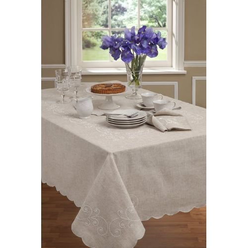 Lenox French Perle Tablecloth 60x120