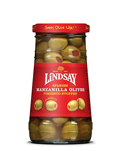 Lindsay Stuffed Manzanilla Olives 12/5.75 oz Jars ()