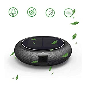 3 Speeds Air Purifier,Household and Car Air Freshener Car Air Purifier,Powerful Smoke Remover,Solar assisted charging,Eliminates Pollen, Smoke, Household Odors and More with Whisper-Quiet Operation