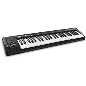 M-Audio Keystation 49 MK3   Compact 49-Key USB-Powered MIDI Keyboard Controller with Software Suite Included
