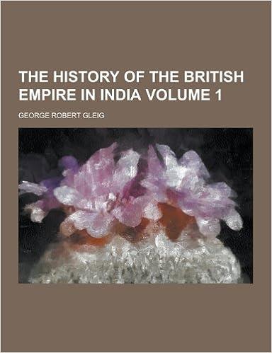 Vollständiges Buch als kostenloser Download The History of the British Empire in India Volume 1 iBook 1230211810