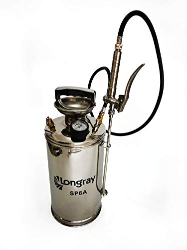Stainless Steel Hand-Pumped Sprayer (1.5-Gallon)