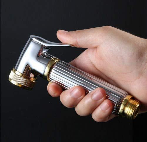 FidgetFidget Hand Hold Gold Finish Brass Bidet Sprayer Shatt