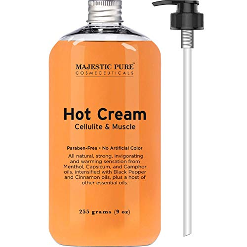 Majestic Pure Anti Cellulite Cream, 87% Organic Fat Burner C