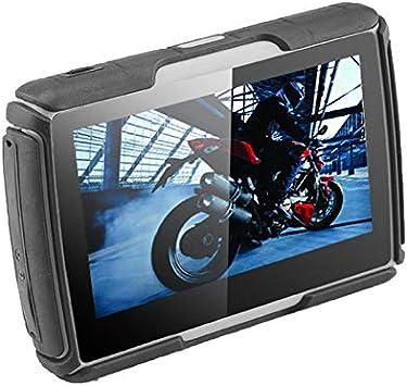 Moto GPS Navigator Impermeable Motocicleta Mapas Pantalla táctil ...