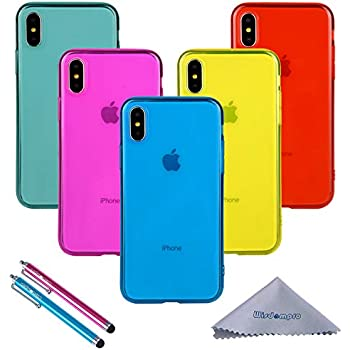 Amazon.com: iPhone Xs Max Case, Wisdompro Bundle of 5 Pack