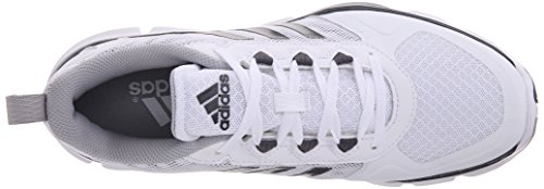adidas Performance Herren Speed ​​Trainer 2 Trainingsschuh Weiß / Carbon Metallic / Hell Onyx