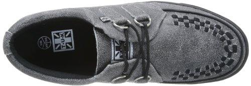 T.U.K.2 Ring Rocker - Tacones con punta redonda Unisex adulto , negro (Noir (Black/Grey Acid Wash/Black)), 46 Grey