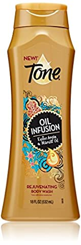 Tone Body Wash, Oil Infusion, 18 Ounce (Dial Tone)