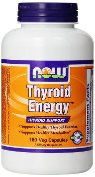 Foods Thyroid Energy Capsules Now jd