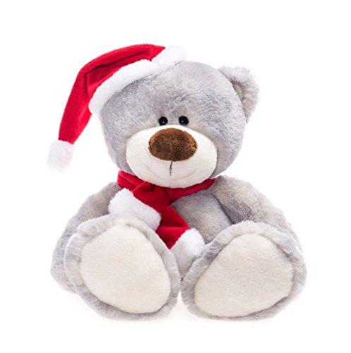 WILDREAM Christmas Stuffed Bear Plush,10.8