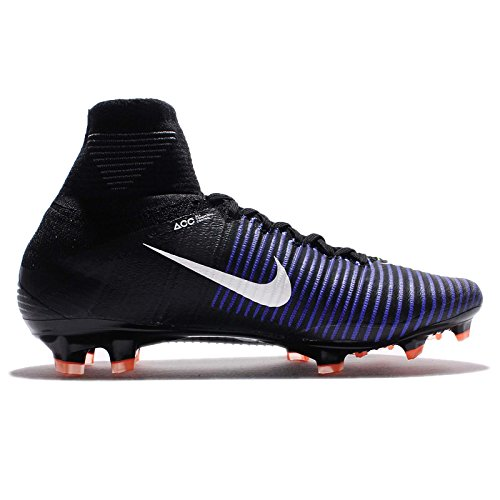 Green Cleat Superfly Electric Soccer FG Mercurial Nike Black Men's Fq8awWS