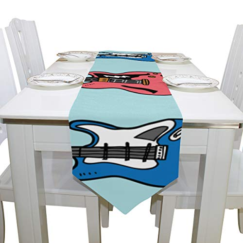 Wuhufy Guitar Musical Instrument Dresser Scarf Cloth Cover