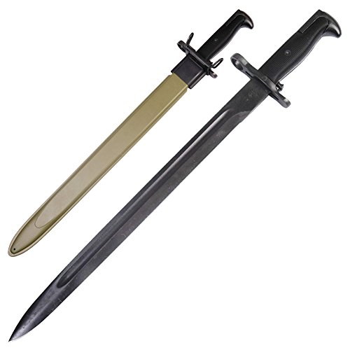US WWII Bayonet M1 Garand Rifle Knife (Wwii Replica Weapons)