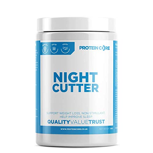 Night Cutter Fat Burner Tablets – Fast Weight Loss Tabs – Non-Stimulant – Lose Weight Management Quick Pills + Improve…