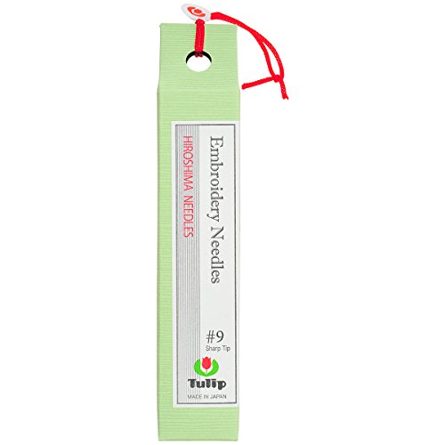 Sewline Tulip Embroidery Needles, Size-9, 8-Pack