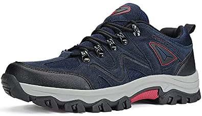Amazon.com | CAMEL CROWN Mens Hiking Shoes Non-Slip Work