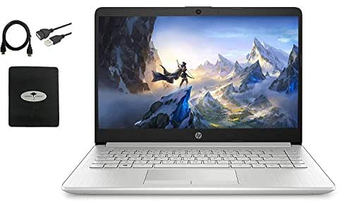"2021 HP 14"" HD Laptop for Business and Student, AMD Ryzen3 3250U (up to 3.5 GHz), 16GB RAM, 256GB SSD, Ethernet, USB-A&C, Webcam, WiFi, Bluetooth, HDMI, Fast Charge, Win10 S, w/GM Accessories WeeklyReviewer"