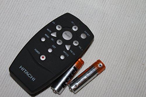 Hitachi Clu-122s Plasma Hdtv Tv Remote for 32hlx61 55hdx62 T