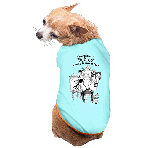 [LFISH3 Tim Edward Burton Scissorhands Warm Pet Shirt Dog Cat Costume] (Scissorhand Edward Costume)