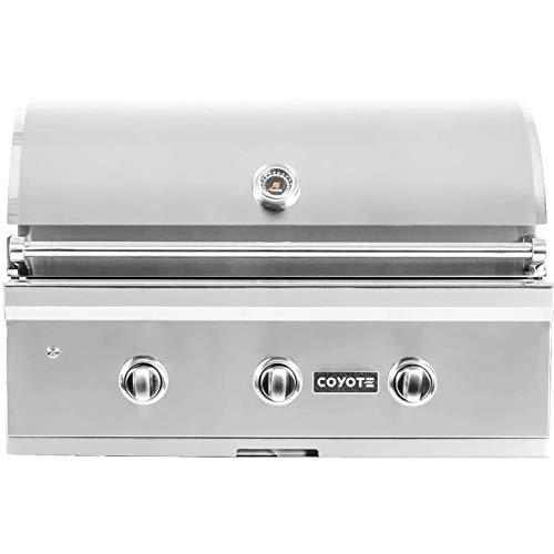 Coyote C-series 34-inch 3-burner Built-in Natural Gas Grill – C2c34ng