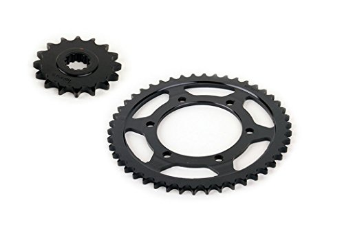 2003 2004 2005 fits Yamaha R6 YZF-R6 530 Conversion Front and Rear Sprocket 16/46 ()