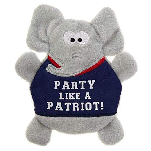 TOP PAW Flattie Elephant - Squeaks & Crinkles ()