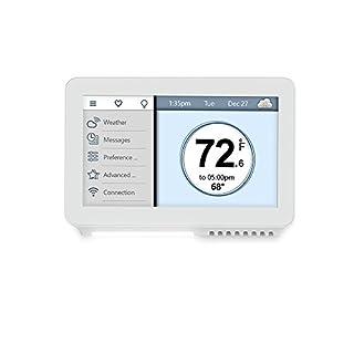 Vine Smart Wi-Fi TJ-919 7-Day Program Thermostat w/ Touchscreen & App Control