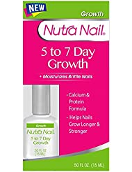Nutra Nail 5 to 7 Day Growth Calcium Formula, 0.50 Fluid...